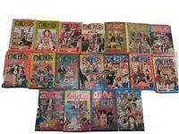 One Piece Lot of 18 Manga Graphic Novel Shonen Jump Eiichiro Oda English