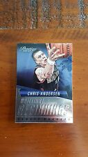2015-16 Panini Prestige Brilliant Beginnings #11 Chris Andersen Denver Nuggets