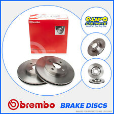 Brembo 08.8638.10 Front Brake Discs 240mm Solid Vauxhall Corsa C 1.0 1.2