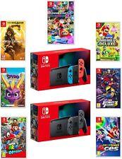 Nintendo Switch Consola Nueva versión 2019 con de Juego Paquete Choice