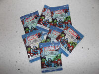 NEW UNOPENED WOOLWORTHS MARVEL DISCS x 7 PIECES