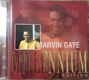 Marvin Gaye    Millennium Edition    CD 2000 ©Polymedia ℗Motown   Almost new!