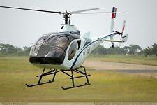 S-333 Schweizer Light Utility Helicopter Wood Model Replica Big New