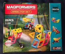 Magformers 25 Piece Magic Pop Set Creator Set Line - Nip