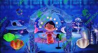 Animal Crossing New Horizons Muschel-Unterwasserraum Shell Room Underwater