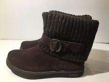 Skechers Women's Adorbs Sweater Boot (1296) 48625 Chocolate Size 6
