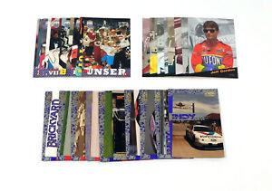 Lot of (3) Different 1994 & 1995 Hi-Tech NASCAR Racing Insert Sets