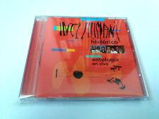 """INTI ILLIMANI HISTORICO """"ANTOLOGIA EN VIVO"""" CD 11 TRACKS COMO NUEVO"""