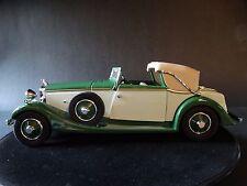 Danbury Mint 1934 Hispano-Suiza J12 Green 1:24 Scale Die Cast Replica Model Car