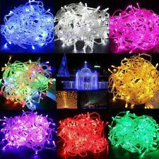 10m 15m 100 200LED Christmas Tree Fairy String Party Lights Lamp Xmas Waterproof