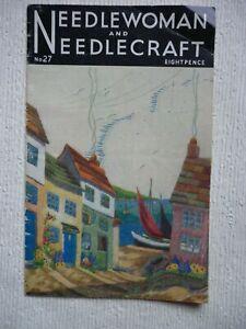 Vintage NEEDLEWOMAN and NEEDLECRAFT No.27. July 1946.