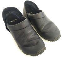 Merrell Improv Slide Moc Women's Size 8.5 Mule Slip On Shoes Black Leather