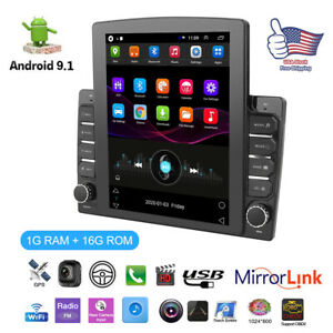 Android 9.1 Car Stereo GPS Navigation Radio Player 2Din WIFI  Hotspot 1+16G 9.7""