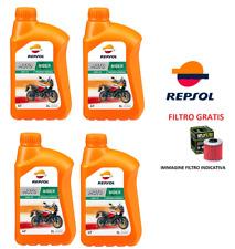 QUATTRO LITRI OLIO MOTORE + FILTRO OLIO KTM ADVENTURE R 990 09/13