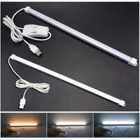 Strip Bar USB LED Desk Table Lamp Light Bedside Reading Study Office Nightlight