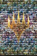 MAGIC THE GATHERING - CHARACTER COLLAGE POSTER - 22x34 - 16046