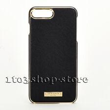 Kate Spade Wrap Leather Case for iPhone 7 Plus iPhone 8 Plus Black Saffiano USED