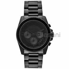 Michael Kors Original MK8482 Men' Brecken Black Ion-Plated Stainless Steel Watch