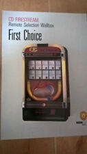NSM CD Firestream Wallbox Jukebox Remote Selector Sales Brochure / Flyer