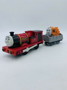 Motorized Rheneas w/ Cargo Car for Thomas and Friends Trackmaster