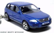 RARE!! KEY CHAIN BLUE VOLKSWAGEN TOUAREG VOLKSWAGON 4X4 SUV NEW LIMITED EDITION