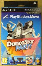 DanceStar Party + Move Starter Pack PS3 prima edizione Nuovo Sigillato New