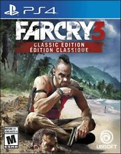 PLAYSTATION 4 PS4 VIDEO GAME FAR CRY 3 CLASSIC EDITION BRAND NEW AND SEALED