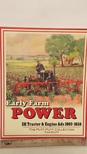 Early Farm Power IH Tractor & Engine Ads 1902 1938 by Tim Putt