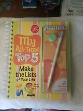 My All-Time Top 5 - A Book Of Lists Klutz Kids Educational Book & Activity Kit