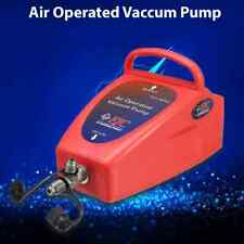 """4.2CFM A/C Air Conditioning System Tool Air Operated Vacuum Pump Auto 1/2"""" ACME"""