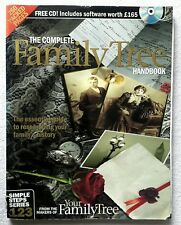 The Complete Family Tree Handbook With CD