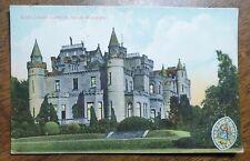 Mauldslie Castle, Wishaw. Vintage Milton Postcard