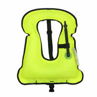 Sports Outdoor Adults Survival Inflatable Life Jacket Vest Swim Surfing Boat US