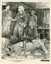 RICHARD BOONE HALLS OF MONTEZUMA 1951 2 VINTAGE PHOTOS ORIGINAL LOT
