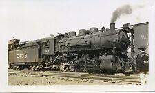 5B759 RP 1939 L&N LOUISVILLE NASHVILLE RAILROAD LOCO 2136 BOYLES SHOPS B'HAM AL