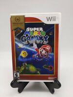 Super Mario Galaxy Nintendo Wii 2007 Complete In Box