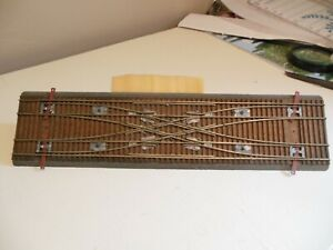 HO SHINOHARA Duel #6 Double Crossover Track - PRE-OWNED - MOUNTED ON WOOD!