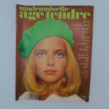 Mademoiselle Âge Tendre n°41 1968 ♣ Stones ♣ France Gall ♣ Dutronc ♣ Gainsbourg