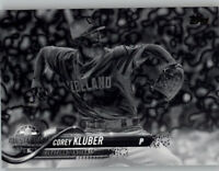 Corey Kluber 2018 Topps Update BLACK & WHITE NEGATIVE Indians All-Star #US185