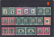 South Africa KGV-KGVI Mounted Mint Collection