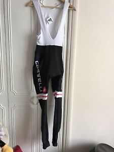 Men's Castelli  Rosso Corsa Bib Tights BNWT Size XL Black