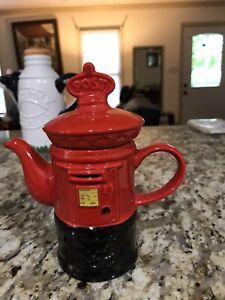 British Mailbox Teapot By Kensington Potteries