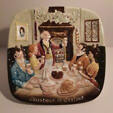 Royal Doulton Beswick 1972 Christmas in England Collector Plate 1st Edition
