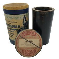 """COLUMBIA RECORD für Edison Walze Nr.: 57619 """"Stille Nacht"""" um 1900"""