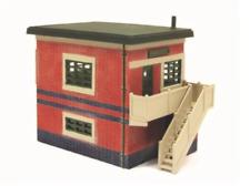 Ratio 554 OO Gauge Wartime (ARP) Flat Roof Signal Box Kit