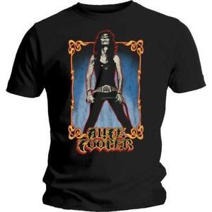 Cooper, Alice - Whip Vintage Style Black Shirt