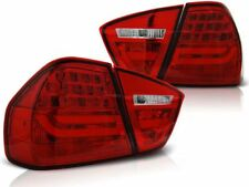 LED REAR TAIL LIGHTS LDBMC7 BMW 3 SERIES E90 2005 2006 2007 2008 RED