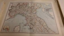 Northern Italy Nos 81-82: Map from Harmsworth Universal Atlas (c.1900)