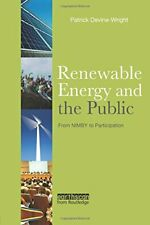 Renewable Energy and the Public, Devine-Wright 9781138985131 Free Shipping-,