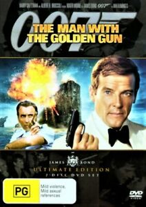 The Man With The Golden Gun DVD JAMES BOND 007 2-DISCS Ultimate Edition R4